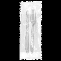 BIS Medium Fork+Knife+Tissue 180mm